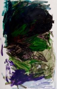 oT Acryl auf Papier 43 x 62 cm