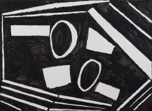 oT Tusche auf Karton 50 x 80 cm