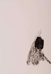 oT Bleistift, Tusche auf Papier 44 x 32 cm