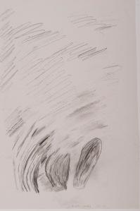 oT Bleistift auf Papier 44 x 32 cm