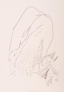 oT (WALD) Bleistift auf Papier 44 x 32 cm
